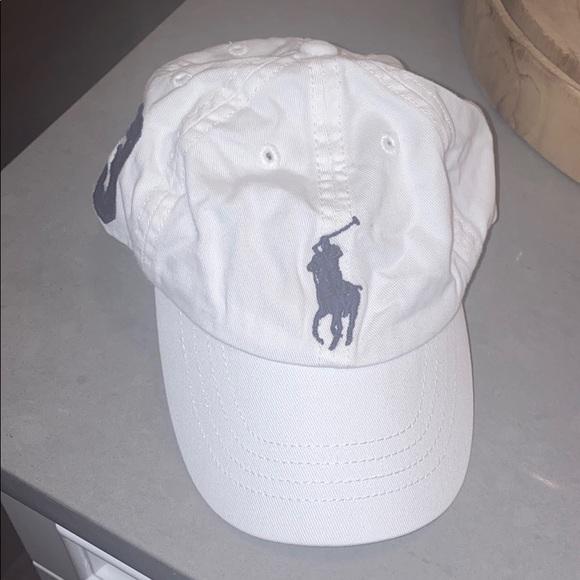 Polo by Ralph Lauren Other - Toddler white/navy Polo Baseball cap